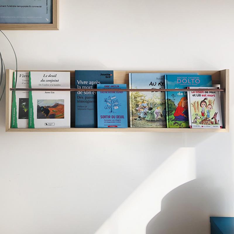 Tellement Là - support de livres